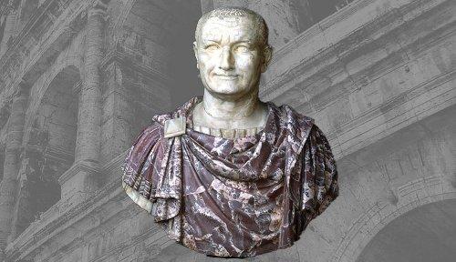 Roman Emperor Vespasian Restores Order To The Empire