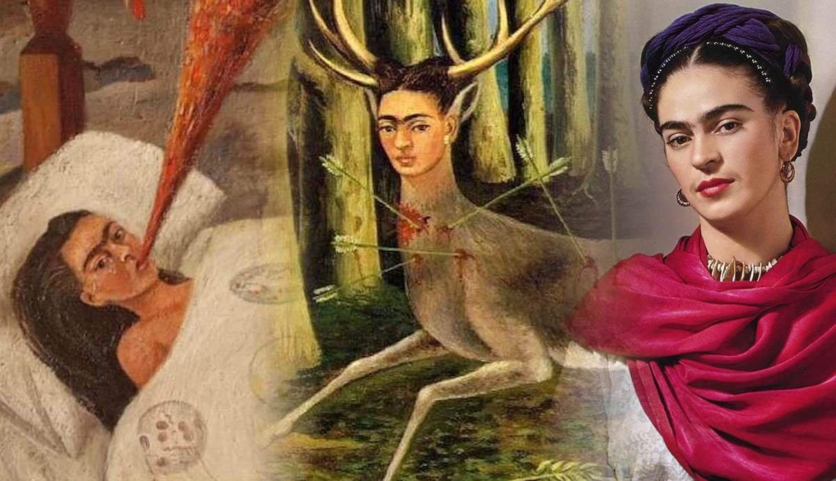 Frida Kahlo: Her Chronic Pain Chronicled in Four Paintings
