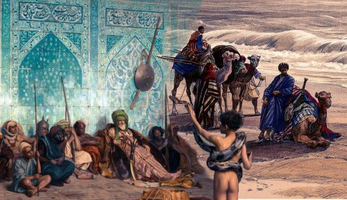 """Orientalism as the """"Other"""" in Artwork"""