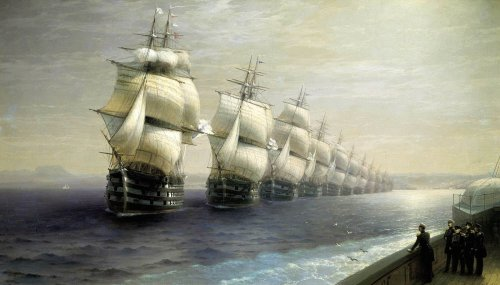 Sea Battles, Great Admirals, and Pirates