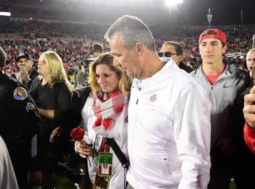 Urban Meyer's wife's vaccine comments are raising eyebrows