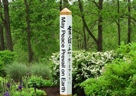 Healing Garden Totem Pole Ideas