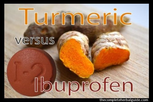 Why is turmeric better than ibuprofen for arthritis?