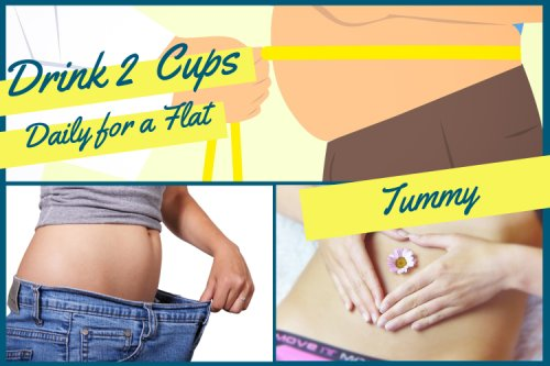 Drink 2 Cups Daily for a Flat Stomach