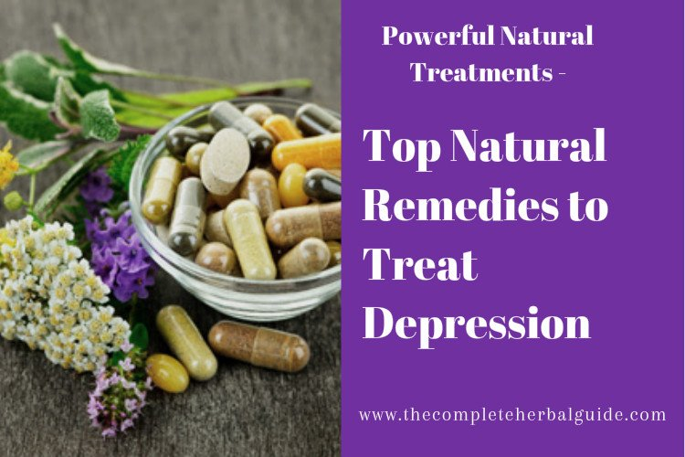 Top Natural Remedies to Treat Depression