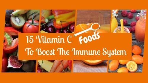 15 Vitamin C Immune Boosting Foods