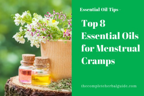 Top 8 Essential Oils for Menstrual Cramps - The Complete Herbal Guide