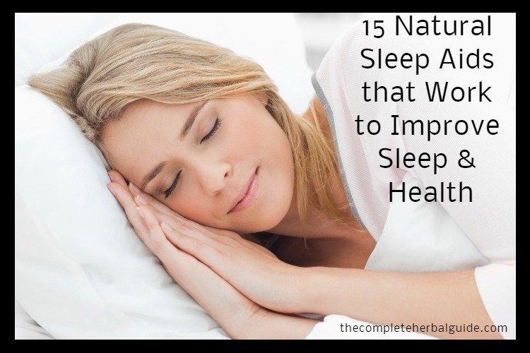 15 Natural Sleep Aids that Work to Improve Sleep & Health