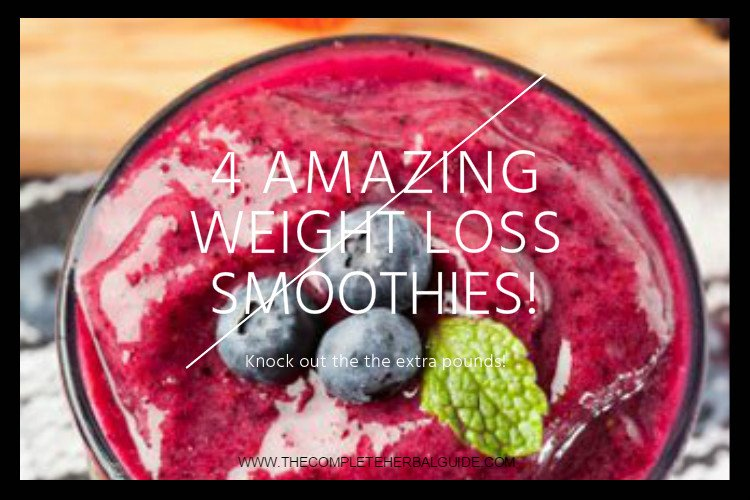 4 Amazing Weight Loss Smoothies