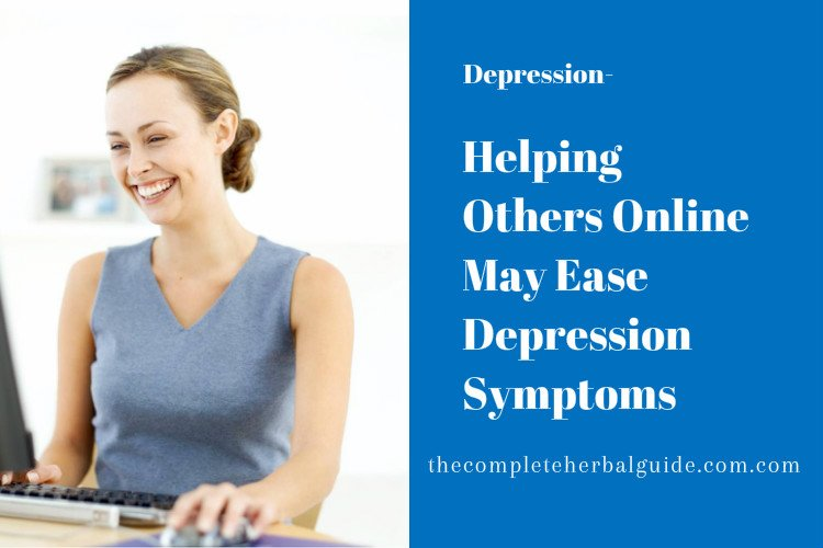 Helping Others Online May Ease Depression Symptoms