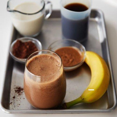 HEALTHY RECIPE: Banana Mocha Shake