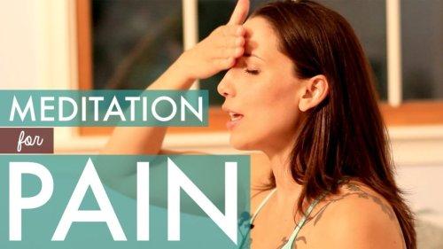 20 Minutes of Meditation to EliminateChronic Pain
