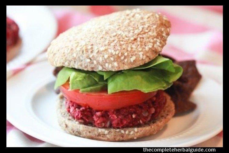 Quick & Easy Beet Burgers