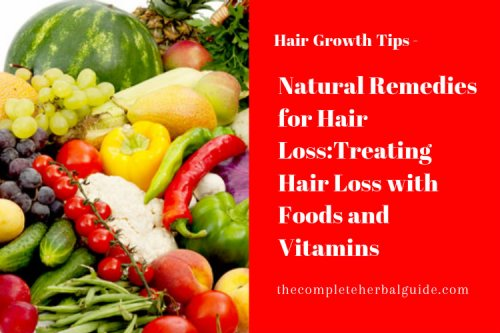 Buzz on Herbs and Food For Hair Loss - The Complete Herbal Guide