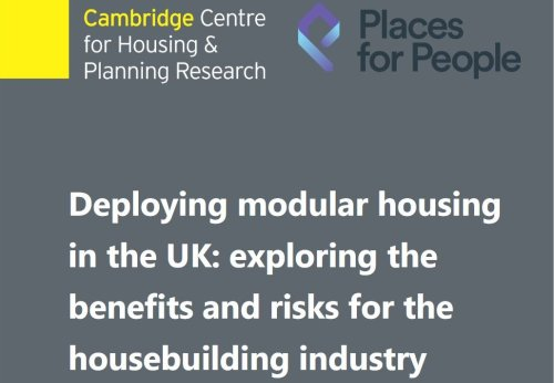 Report seeks to accelerate use of modular construction