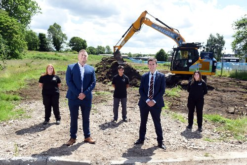 City Building starts work on its own training college