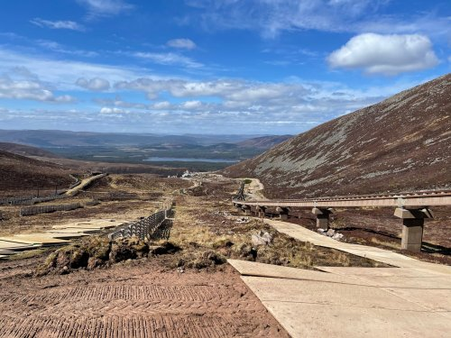 Strengthening work completed for Cairn Gorm funicular