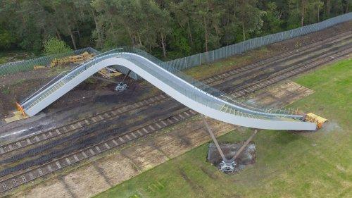 Network Rail develops new type of footbridge