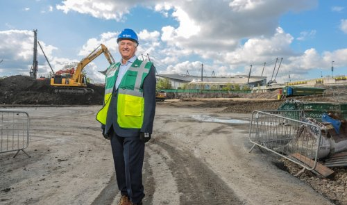 BAM moves to main works on Mancheste arena