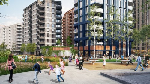 Morgan Sindall mobilises for Canning Town estate