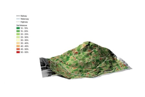 Coal tip safety survey for Central Alliance