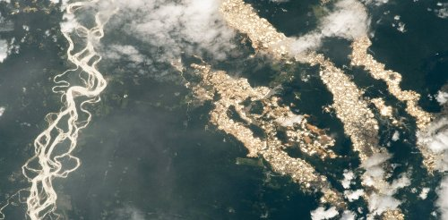 Pictures from outer space reveal the extent of illegal gold mining in Peru