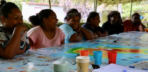 À Maré en Nouvelle-Calédonie, un jeu de rôles pour préserver les ressources en eau