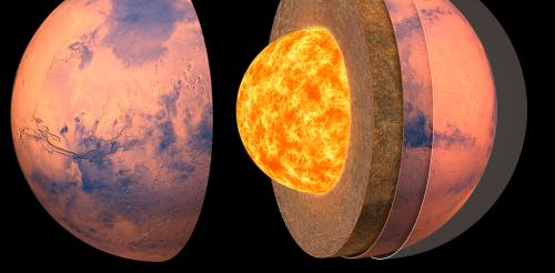Anatomie martienne : après deux ans de surveillance sismique, la structure interne de la planète rouge enfin révélée