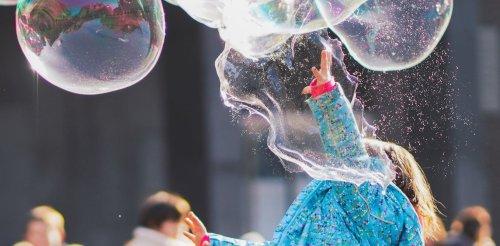 Comment faire des bulles de savon géantes