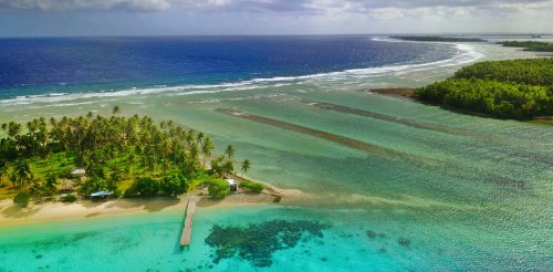 Coastal flooding could save atoll islands from rising seas – but only if their reefs remain healthy