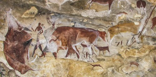 An ancient San rock art mural in South Africa reveals new meaning