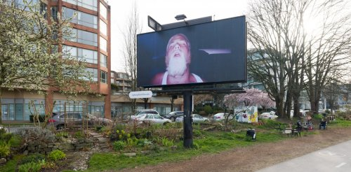 Vancouver billboards by artist Steven Shearer evoked intimacy where people least expected it