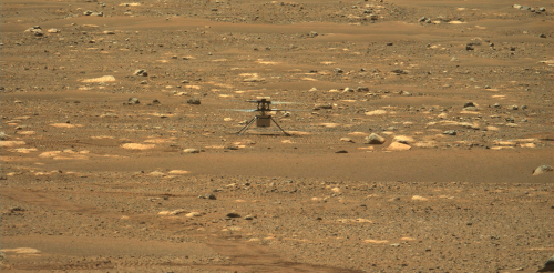 NASA's Ingenuity helicopter flight on Mars opens up new frontiers in space exploration