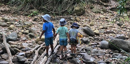 Children learn science in nature play long before they get to school classrooms and labs