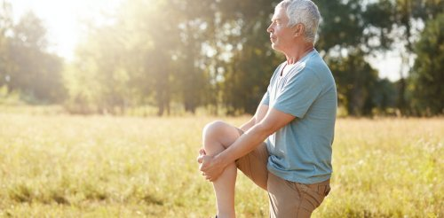 Standing on one leg is a sign of good health – and practising is good for you too