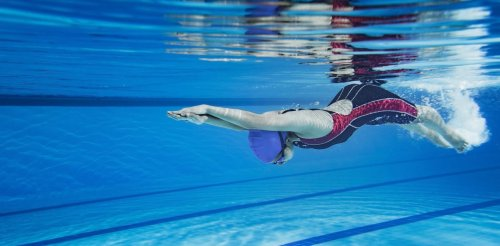 The science of underwater swimming: how staying submerged gives Olympians the winning edge