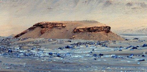 Les premiers succès de Perseverance sur Mars : il y aurait bien eu un lac dans le cratère Jezero