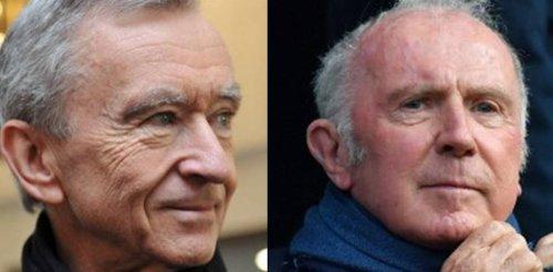 Bernard Arnault vs François Pinault, quand les rivalités deviennent facteur de réussite