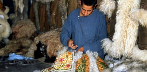 Friday essay: how 'Afghan' coats left Kabul for the fashion world and became a hippie must-have