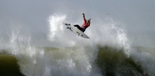 Surfing makes its Olympic debut – and the waves should be world-class thanks to wind, sand and a typhoon or two