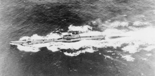How the British navy hid the heroic voyage of crippled second world war submarine HMS Triumph