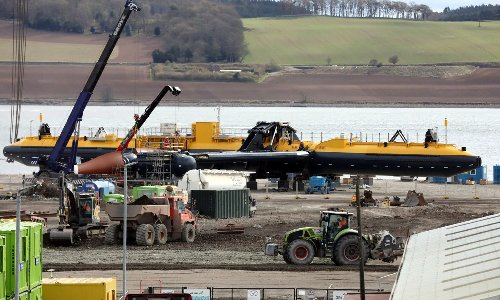 World's most powerful tidal turbine to be launched in Dundee next week