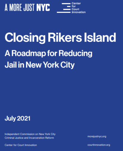 NYC Rikers Closure Called Model for Shrinking Jail Populations