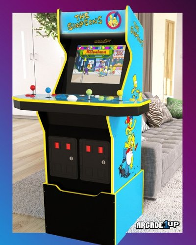 The Simpsons Arcade Machine Is Getting a Rerelease Courtesy of Arcade1Up
