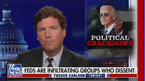 Tucker Carlson Bizarrely Suggests Capitol Insurrection Was Orchestrated by FBI