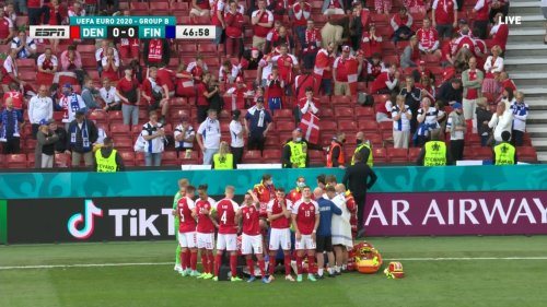 Danish Footballer Collapses on Pitch During Euro 2020 Game