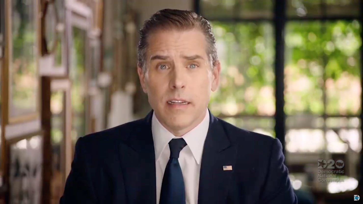 Trump Target Hunter Biden Comes Out of the Shadows for His Dad