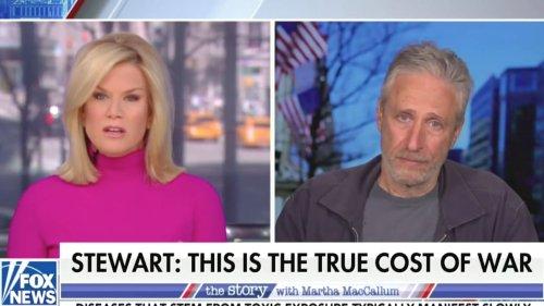 Fox News Host Tries and Fails to Bait Jon Stewart Into Attacking Biden