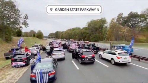 Trump Supporters Spend Weekend Clogging America's Highways