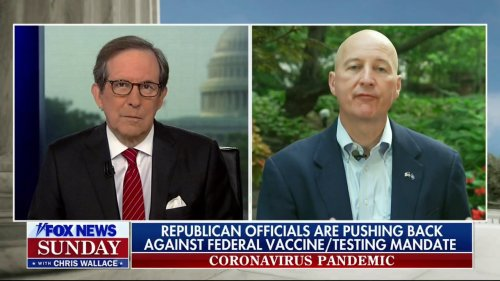 Chris Wallace Grills GOP Guv: Why Do You Oppose Vaccine Mandates for COVID but Not Chickenpox?